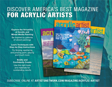 Image of Acrlic Artist Magazine